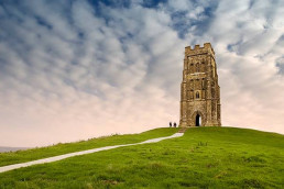 Glastonbury Tor near Patson Hill's luxury cottages Sherborne