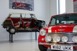 Haynes Motor Museum near Patson Hill's Visit England four star gold holiday cottages
