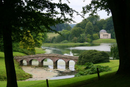 Stourhead near Patson Hill's luxury cottages Sherborne