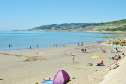 Charmouth Beach near Patson Hill Holiday cottages West Dorset